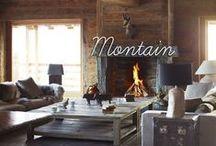Week-end à la montagne / Envie d'une ambiance cocooning auprès de la montagne ? Cette sélection de parquets vous donnera des idées pour un chalet chaleureux.