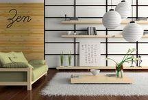 Zen Power / D'inspiration asiatique, le style zen se caractérise par son minimalisme.