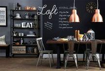 Design Industriel / Anciens ateliers industriels rénovés pour la plupart, les lofts sont devenus un style à part entière.