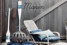 Vacances au bord de la mer / Le style bord de mer ou décoration marine est synonyme de détente et de relaxation.