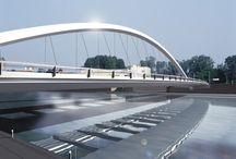 RM 1996 Cittadella Bridge Alessandria, Italy 1996 / RICHARD MEIER