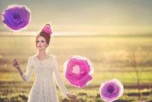 Photo Shoot Inspiration / Inspiring ideas for creative portrait photo shoots