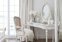 Bedroom Decoration Ideas / Shabby chic, vintage and natural style ideas for bedrooms.