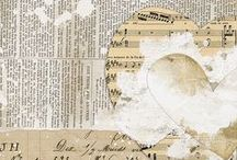 Art Journal / Mixed media ideas for journalling.