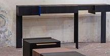 Kitale - Console / Solid French oak - Massief Frans Eiken - Furniture - Meubelen - Tailor made - Maatwerk - Interior - Interieur - Sideboards - Dressoirs - Cabinets - Kasten - Coffeetables - Salontafels - Chairs - Stoelen - Diningtables - Tafels - Sideboard - Dressoir - Cabinet - Kast - Salontafel - Chair - Stoel - Table - Tafel - Van Rossum - Messing goud - brons - Brass gold - bronze - RVS - Stainless steel - Natuursteen - Marmer - Stone - Marble - Xavier Dohr Studio - Parijs - Paris