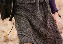 Вязание. Юбки