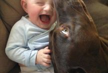 Growing up with dogs / A very special bond..