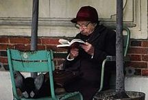 """Read / """"Outside of a dog, a book is man's best friend. Inside of a dog it's too dark to read."""" Groucho Marx / by Vicki Chan"""