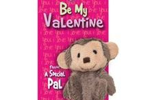 Valentine's Day Specials - Ponytail Pals / Hair accessories for girls that come with a customizable Valentine.