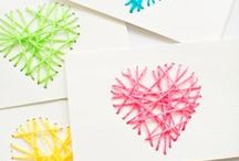 Kids Valentine's Day / Valentine projects, DIY, crafts for kids.