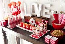 Valentine's Day / Show your Valentine(s) a great time on Valentine's Day with these fun party ideas.  / by RhinestoneSash.com