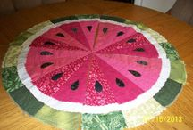 Table runners and table toppers / by Donna Suscinski