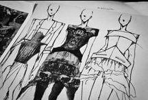 Inspiring fashion illustrations