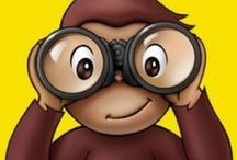 Curious George / Fun printables & activities for parents and kids to do together! Great ideas for Curious George themed birthday parties, too!
