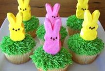 Easter / How to make DIY Easter crafts, decorations, and treats. #Easter