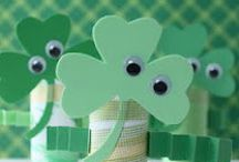 Kids St. Patrick's Day / St.Patrick's projects, DIY, crafts for kids.