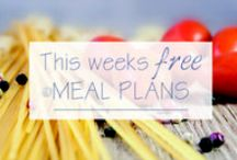 Meal Planning Ideas / Meal planning ideas, simple meal plans, family meal plans, weekly meal plans and everything meal planning related!