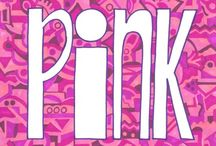 """IheartPink / Pink. All things. Except clothes and shoes which are over on the board """"In the Pink."""""""