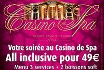 Nos offres spéciales Casino de Spa. / Toutes nos offres !!!