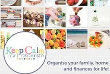 Keep Calm Get Organised - Blog / The very best pins, tips, ideas and inspiration on home organisation, budgeting, storage, meal planning, recipes and more from Keep Calm Get Organised www.keepcalmgetorganised.com.au
