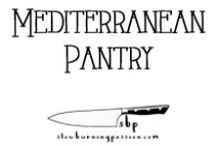 Mediterranean Pantry / Condiments, spice mixes, pickled items, the basic stuff you need on hand to cook Mediterranean style cuisine.