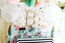Let's PARTY / party diy, party foods, decoration, how to organize a party