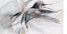 Watercolor • Birds • Animals / Watercolor paintings of birds, animals, fauna, acuarela, aquarelle. Акварель, акварельные рисунки животные, птицы