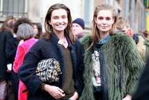 Street Style MFW Fall 2013