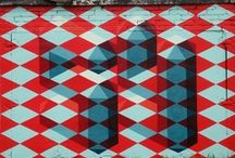 Kirjottu kaupunki / Patterned City / Inspiration for all of you taking part in our urban art project