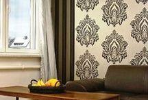 Luxury Glass Bead Wallpaper | Walls Republic / Luxury Glass beads and Flock finished home wallpapers