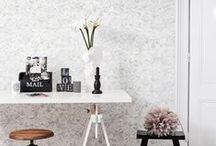 Contemporary Floral Wallpaper | Walls Republic / Contemporary and modern floral home wallpaper by Walls Republic.