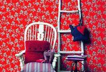 Floral Ornamental Wallpaper | Walls Republic / Ornamental floral home wallpaper by Walls Republic.