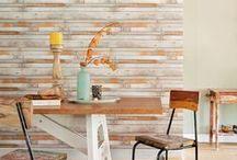 Faux Wood Wallpaper | Walls Republic / Faux wood home wallpaper by Walls Republic.