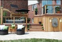 Multi-Level Decks / A deck that transitions smoothly into your yard harmonizes your property, uniting your home, deck and yard into a beautiful whole.