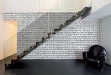 Faux Brick Wallpaper | Walls Republic / Faux Brick Home Wallpaper by Walls Republic