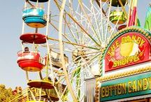 Fairground Fun / Want to have some good old fashioned fun at your wedding or celebration? Of course you do. There's nothing that says it all more than the colour and vibrancy of the fairground. Go on ... indulge your inner 5 year old!