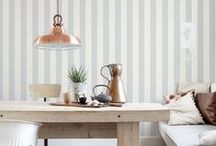 Striped Wallpaper | Walls Republic / Horizontal stripes or Vertical stripes, Walls Republic has them all; Great striped patterns in every colour and finish to make your room appear taller and longer. A classic wallpaper that will add just enough colour and pattern to your home, while keeping your space looking timeless.