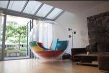 Design - Móveis e Objetos Incomuns / Na decoração de um imóvel arquitetos e designers de interiores demonstram sempre muita criatividade, encontrando ou criando peças diferenciadas. Nesse painel reunimos para você as mais curiosas criações em mobília e elementos de decoração.