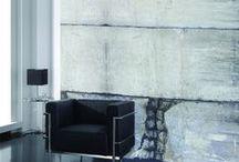 Faux Concrete Wallpaper & Murals | Walls Republic / Faux concrete wallpaper by Walls Republic. Get on board with the latest 2015 wallpaper trends!