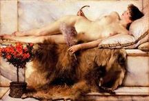 Women (Nude) / Nude themed paintings and photos from famous masters. #art, #canvas, #design, #painting, #print, #poster, #decoration