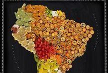 Pretty Maps / Pretty maps of South America