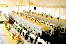 /// C&I Weddings: Backyard BBQ / Wedding Design and Decor by Champagne & Ink
