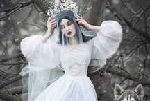 wedding dresses / SLIGHTLY ALTERNATIVE WEDDING STUFF