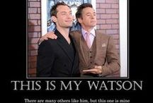 Robert Downey Jr and Jude Law