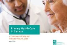 Primary Health Care in Canada, 2016 / Based on the 2012 Pan-Canadian Primary Health Care Indicator Update Report, this board profiles the results from a selected group of primary health care (PHC) indicators, using a range of data sources, with the aim of providing an integrated view of PHC information in Canada. For more details: https://secure.cihi.ca/estore/productFamily.htm?locale=en&pf=PFC3137&lang=en