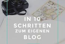 BLOGGING | Deutsche Tipps & Tutorials / Auf diesem Board pinnen viele verschiedene deutsche Blogger zum Thema Blogging Tipps und Tricks!