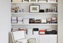 INTERIOR | Bücherregale & Bibliotheken / Als Bibliothekarin liebe ich natürlich Bücher, Bibliotheken und Regale! Hier sind einige Inspirationen wie man Bücherregale stylen kann!