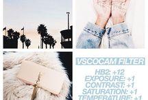 INSTAGRAM | VSCO Filter und Einstellungen / Du willst einen einheitlichen Instagram Feed? Benutz einfach die VSCO app und halte dich an die Filtereinstellungen! Hier pinne ich hübsche VSCO Filter!
