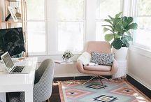 INTERIOR | Schöne Home Offices / Büros / Neben schönen Arbeitsplätze liebe ich schön eingerichtete Home Offices! Hier findest du die passende Inspiration!