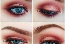 BEAUTY | Augen Eye Make Up / Dramatisches Smokey Eye oder sanftes Nude Make Up für den Tag. Auf diesem Board sammel ich meine Inspirationen für das Augen Make Up!